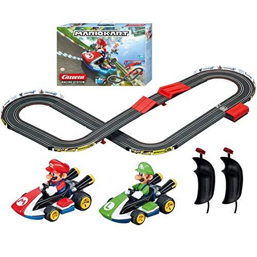 Carrera First Nintendo Mario Kart Slot Car Race Track (Best Quality Option)