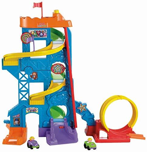 Fisher-Price Little People Loops 'n Swoops Amusement Park (Best Stunt Option)
