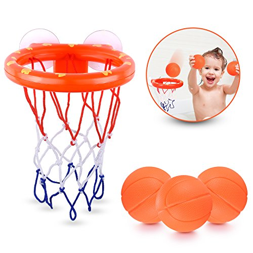 BRITENWAY Fun Basketball Hoop & Balls Playset