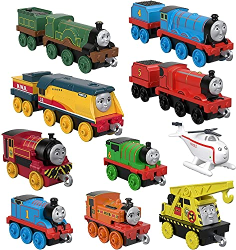 Thomas & Friends TrackMaster Push Along Metal Sodor Steamies (Best Quality Option)