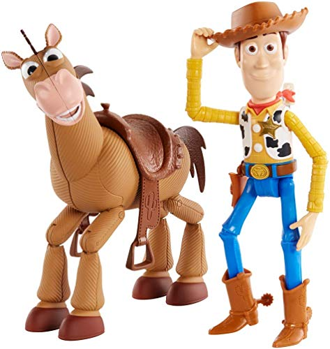 Disney and Pixar's Toy Story 4 Woody and Buzz Lightyear 2-Character Pack