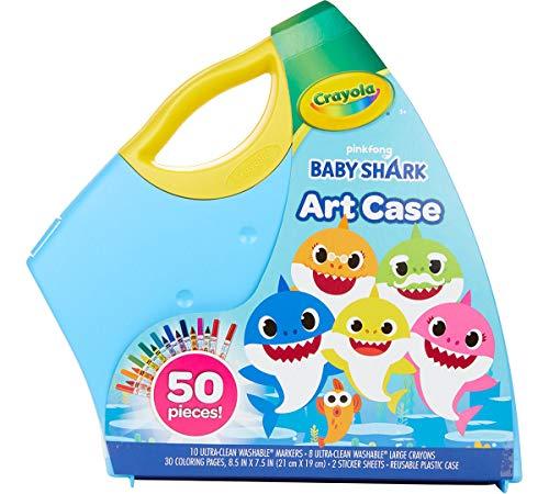 Crayola Baby Shark Art Set