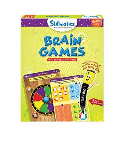 Skillmatics Educational Game: Brain Games