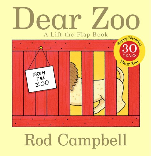 Dear Zoo: A Lift-the-Flap Book (Best Quality Zoo Book)