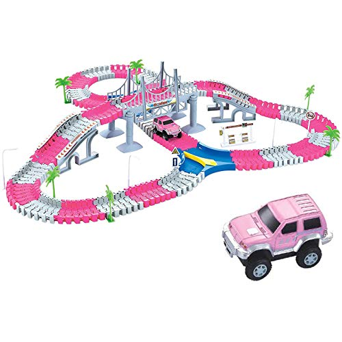 Liberty Imports 168 Pieces Create a Road Super Snap Speedway (Best Budget Option)