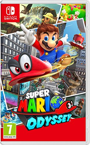 Super Mario Odyssey (Ages 8 and up)