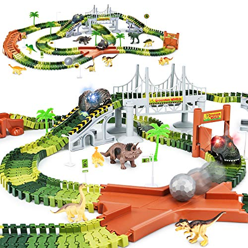 KKONES Dinosaur World Road Race
