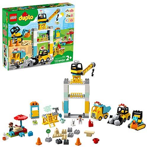 LEGO DUPLO Construction Tower Crane & Construction 10933