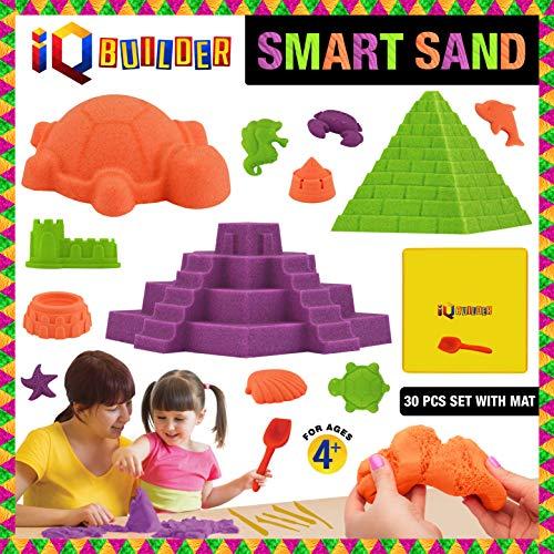 IQ BUILDER   Sensory Toys   Creative Educational Art Play Sand