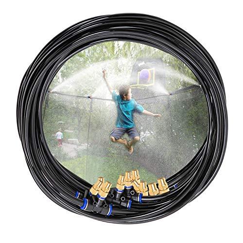 H&G lifestyles Outdoor Trampoline Water Play Sprinkler