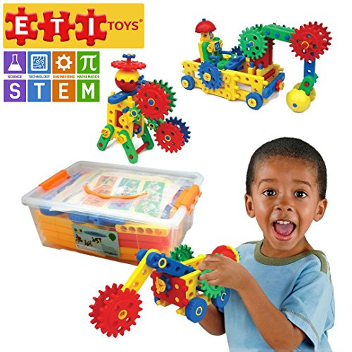 ETI Toys Educational Engineering Construction Blocks (Best Quality Toy for 3-Year-Olds)