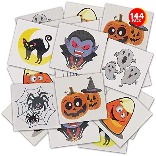Halloween Temporary Tattoos for Kids