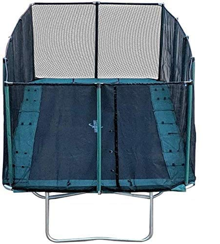 Happy Trampoline - Galactic Xtreme Gymnastic Rectangle Trampoline with Net Enclosure
