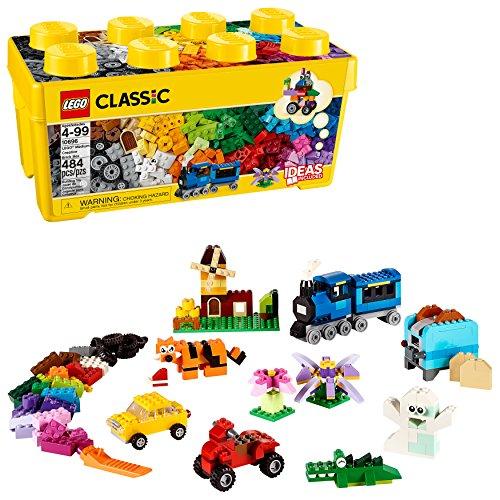 LEGO Classic Medium Creative Brick Box 10696 (Best Budget Age 4-6 Option)