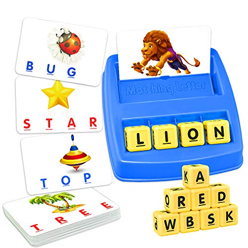 ATOPDREAM TOPTOY Matching Letter Game for Kids