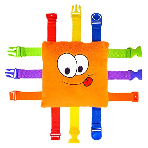 Buckle Toy - Bizzy Square (Best Quality Option)