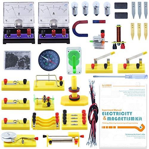 Teenii STEM Physics Science Lab Basic Circuit Learning Starter Kit (Best Quality Option)