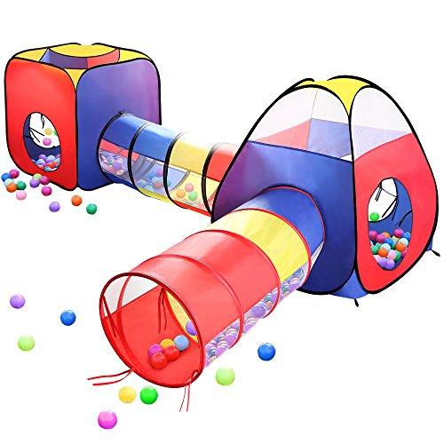 EocuSun 4 in 1 Pop Up Children Toddler Ball Pit House