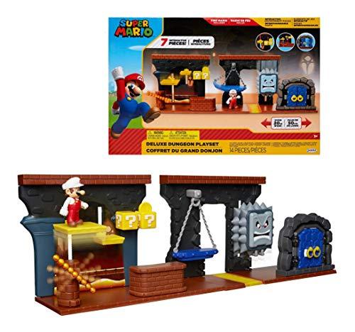 Nintendo Super Mario Dungeon Deluxe Play Set