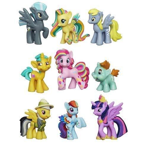 My Little Pony Friendship Is Magic Minis Set of 9