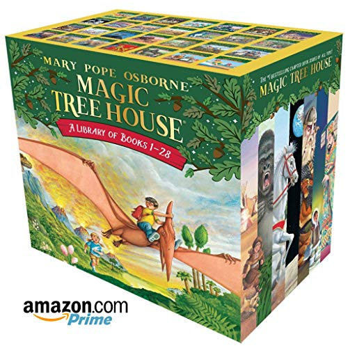 Magic Tree House Books A Library of Books 1-28 The Ultimate Box Set Of 28 Books 1-28 Books Set Osborne Mary Pope