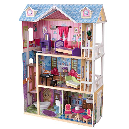 KidKraft My Dreamy Dollhouse with Furniture (Best Quality Option)