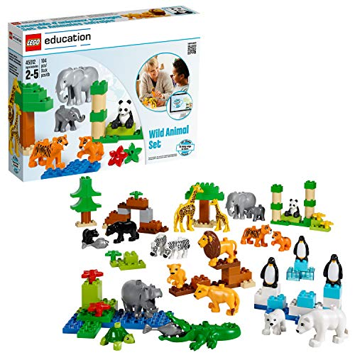 Wild Animals Set for Understanding Animal Habitats by LEGO Education