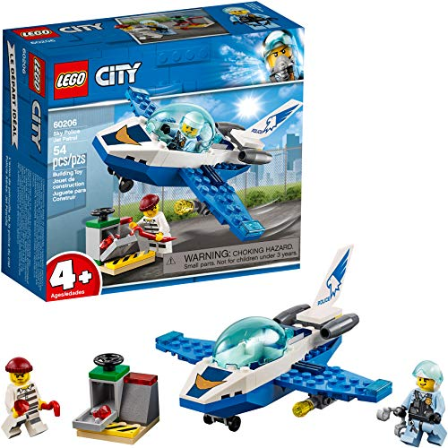 LEGO City Sky Police Jet Patrol (Best Budget Age 4-6 Option)