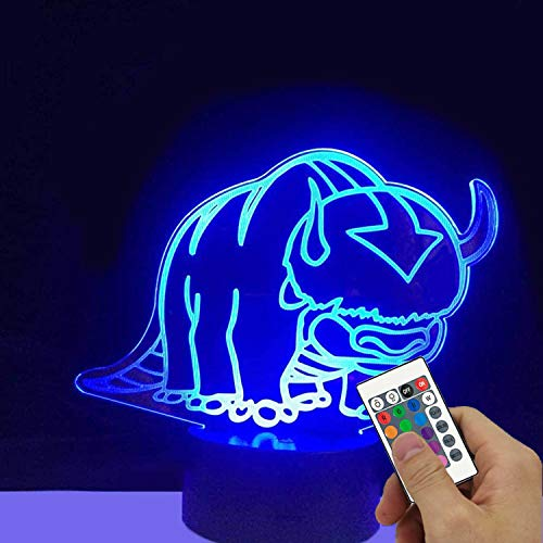 Inked and Screened Appa LED Light