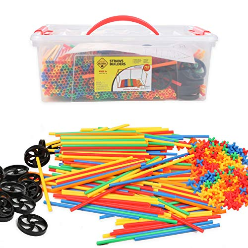 Smart Builder Toys Straw and Connector STEM Building Straws