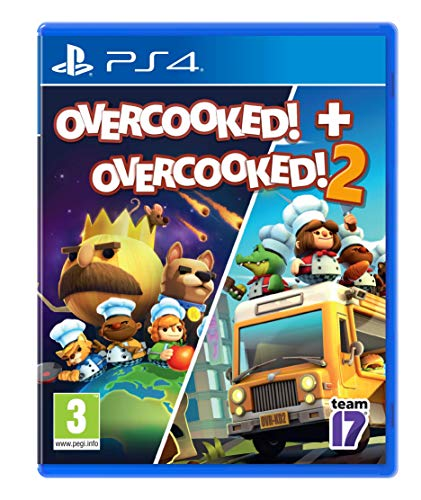Overcooked! + Overcooked! 2 (PS4) (Best Quality Option)