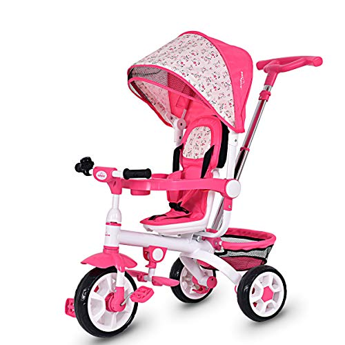 Costzon 4-in-1 Kids Tricycle