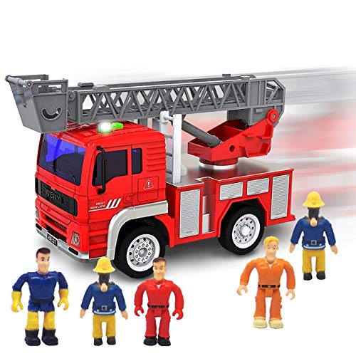 Fire Truck with Lights and Sounds