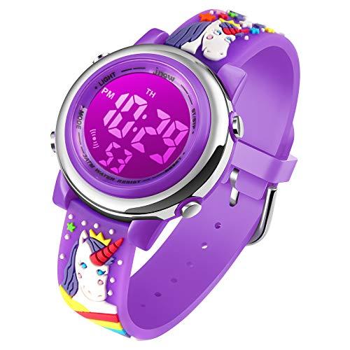 Kids Digital Sport Waterproof Watch
