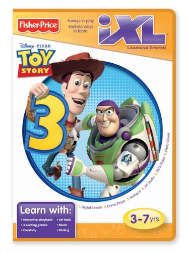 Fisher-Price - iXL Learning System Software, Toy Story 3