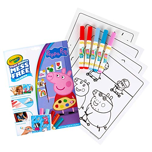 Crayola Color Wonder Mess Free Drawing, Peppa Pig