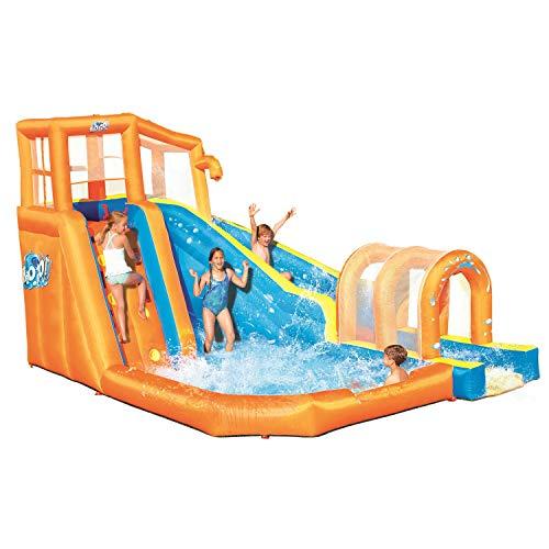 Bestway Hurricane Tunnel Blast Inflatable Water Park Play Center