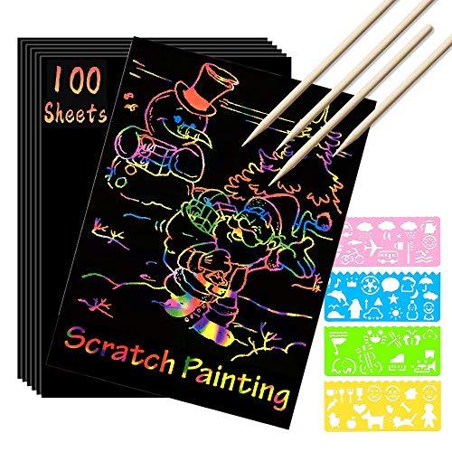 Scratch Paper Art Set