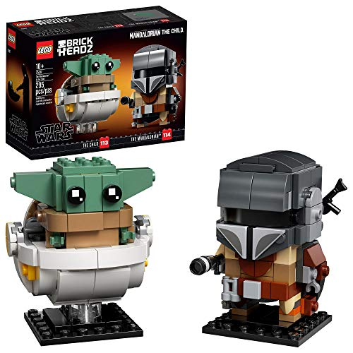 LEGO BrickHeadz Star Wars The Mandalorian & The Child 75317 (Best Budget Age 7-11 Option)