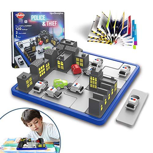 VATOS Smart Games IQ Logic Game Police & Thief