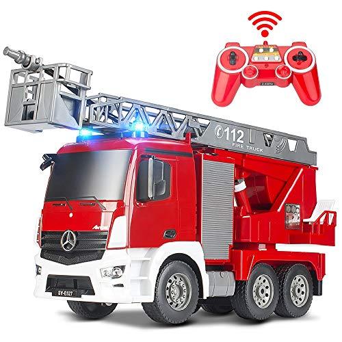 DOUBLE E Remote Control Fire Truck