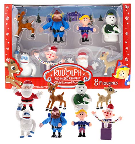 Rudolph the Red Nosed Reindeer Figures