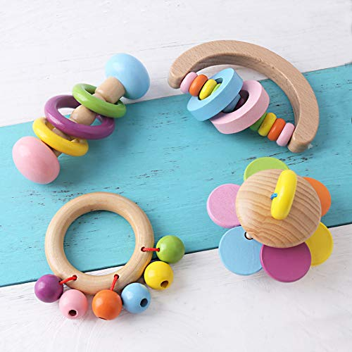 Promise Babe Organic Toddler Wooden Toys