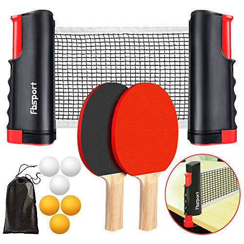 FBSPORT Ping Pong Paddle Set