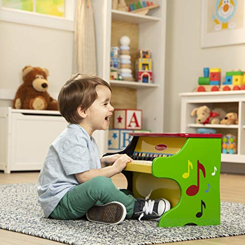 Melissa & Doug Learn-to-Play Piano (Best Eco-Friendly Option)