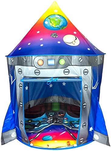 Rocket Ship Play Tent Playhouse