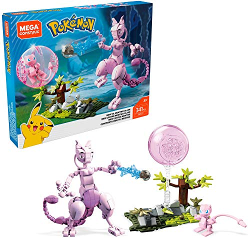 Mega Construx Pokémon Mew vs. Mewtwo Clash