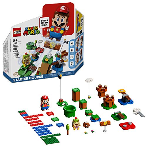 LEGO Super Mario Adventures with Mario Starter Course 71360 (Best Quality Age 4-6 Option)