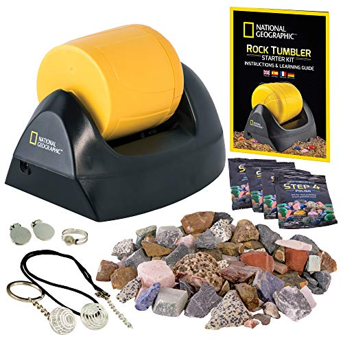 NATIONAL GEOGRAPHIC Starter Rock Tumbler Kit (Best Budget Option)