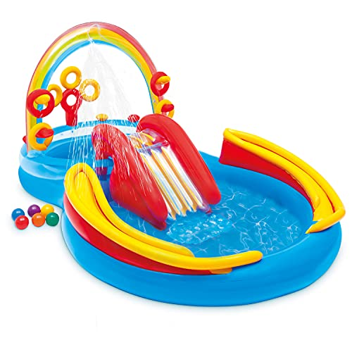 Intex Rainbow Ring Inflatable Play Center (Best Budget Option)